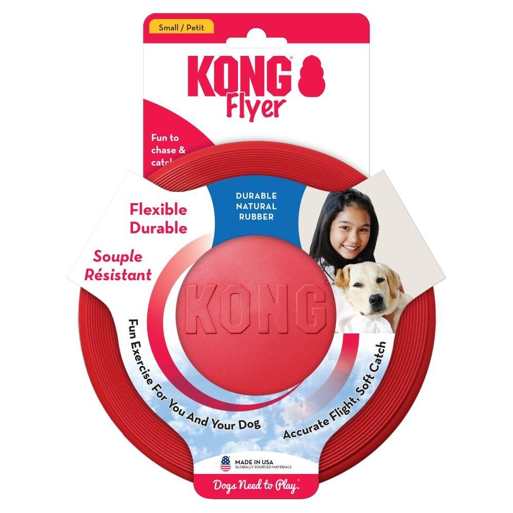 KONG KONG RUBBER FLYER LG RED 24