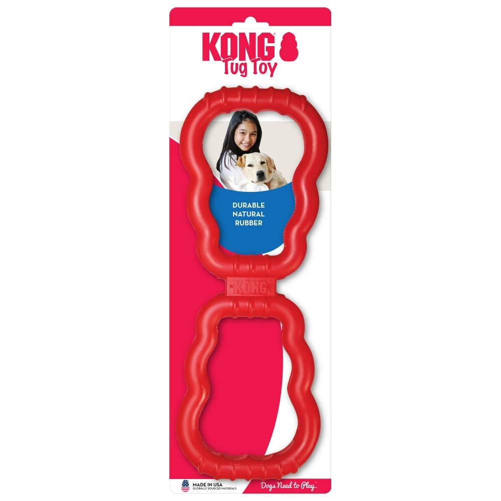 KONG KONG TUG TOY RED 24