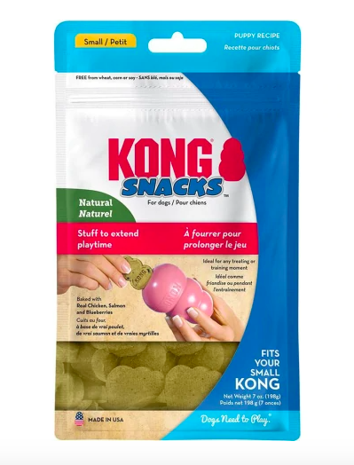 KONG PUPPY SNAPS SM               24