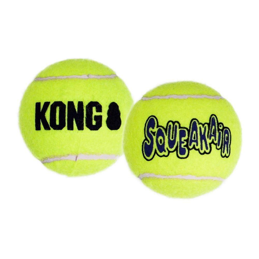 KONG SQUEAKER TENNIS BALLS 2PK LG 48