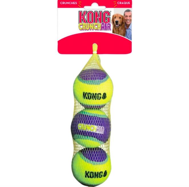 KONG U/A KONG CRUNCHAIR BALL BULK MD