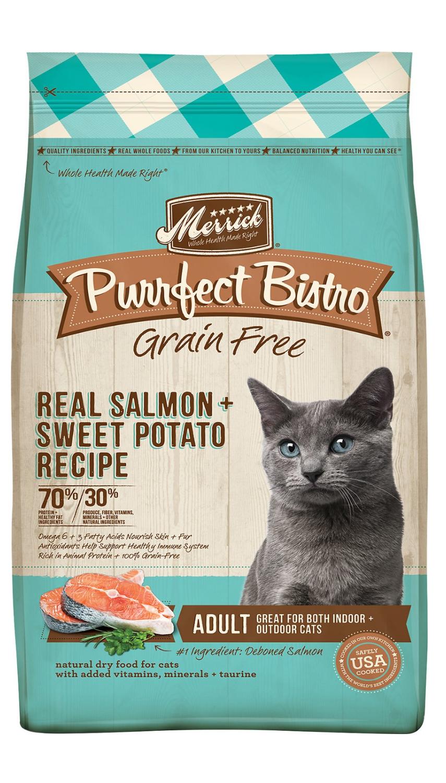 Merrick Purrfect Bistro GF Salmon Dry Cat Food