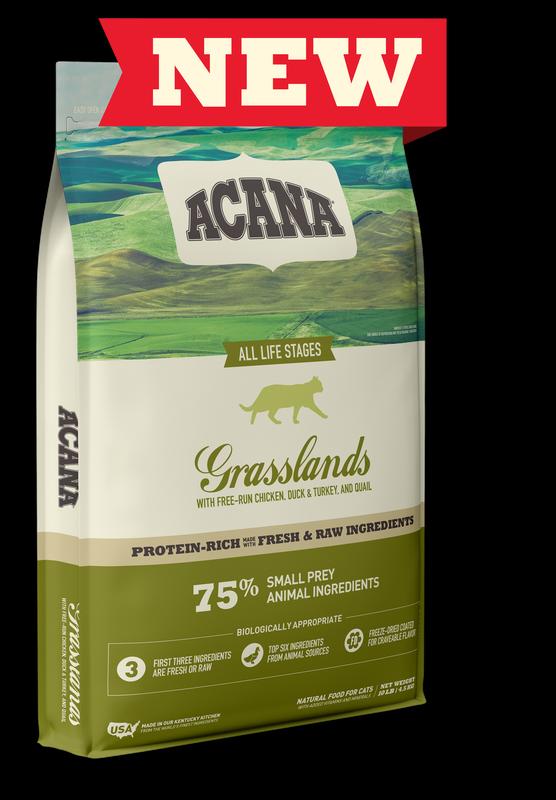 Acana Grasslands GrainFree Run Chicken Dry Cat Food