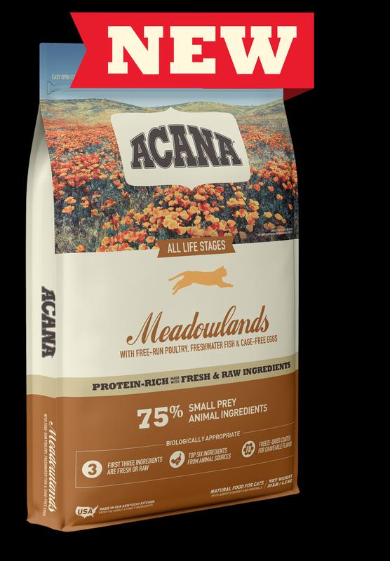 Acana Meadowland Free Run Dry Cat Food