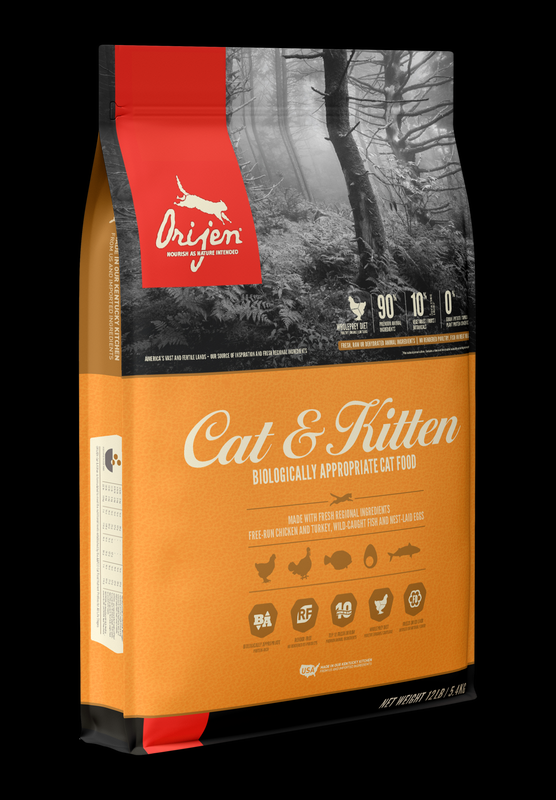 Orijen Cat & Kitten GF Dry Food
