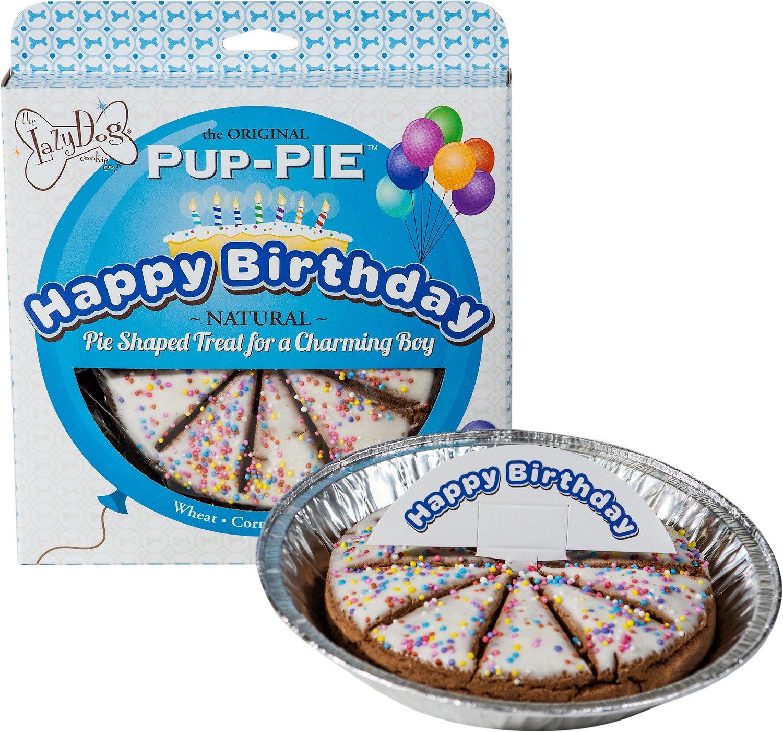 "Lazy Dog Cookie Co. Lazy Dog ""Happy Birthday"" Dog Treats  Boy"