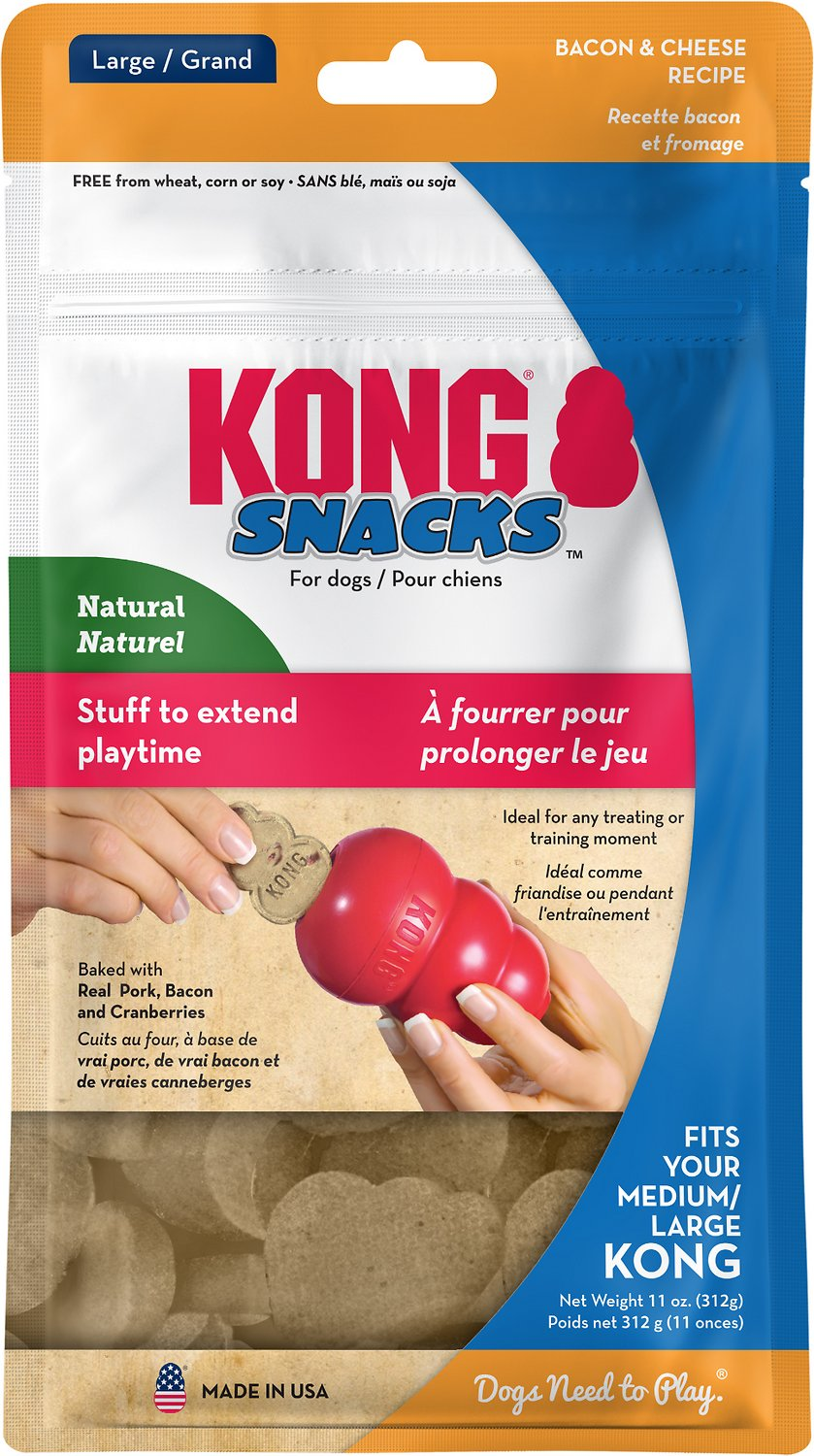 KONG Snack Bacon & Cheese Treat Inserts