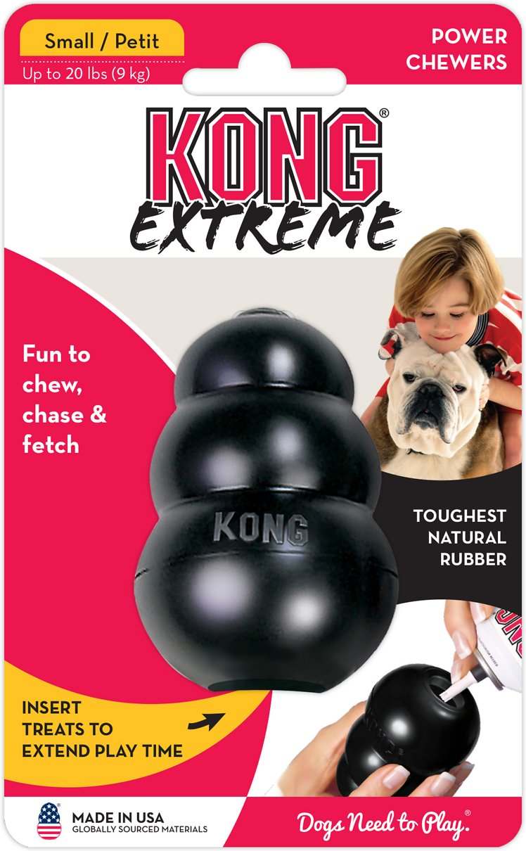 KONG Extreme Treat Insert Toughest Rubber