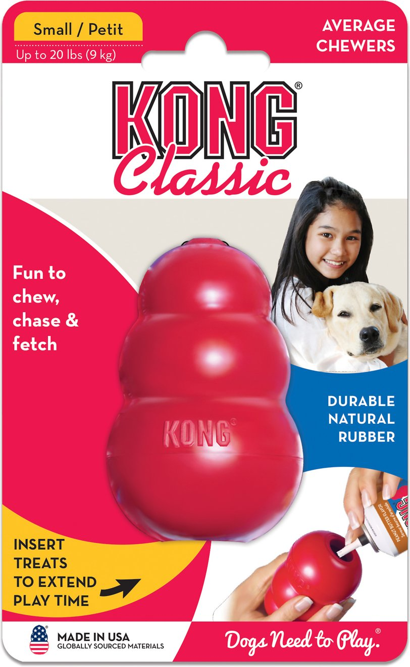 KONG Classic Treat Insert Durable Rubber