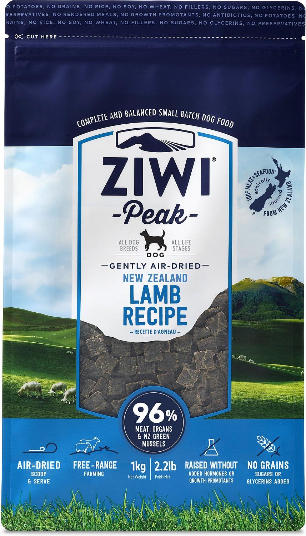 Ziwi Peak Air Dried Lamb GF Dog Food