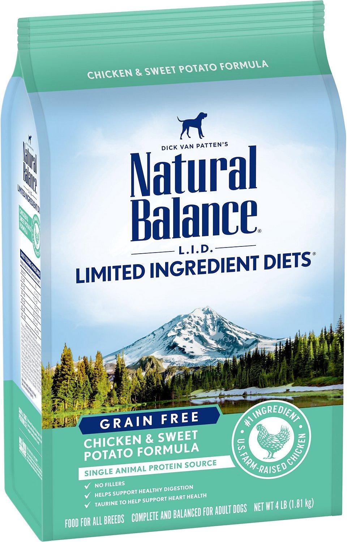 NATURAL BALANCE Chicken&Sweet Potato GF Dog Food