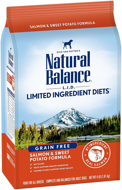 NATURAL BALANCE Sweet Potato &Fish GF Dog Food