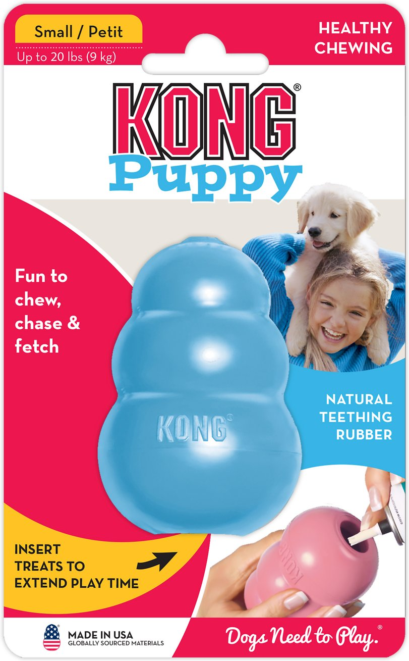 KONG Puppy Treat Insert Teething Rubber