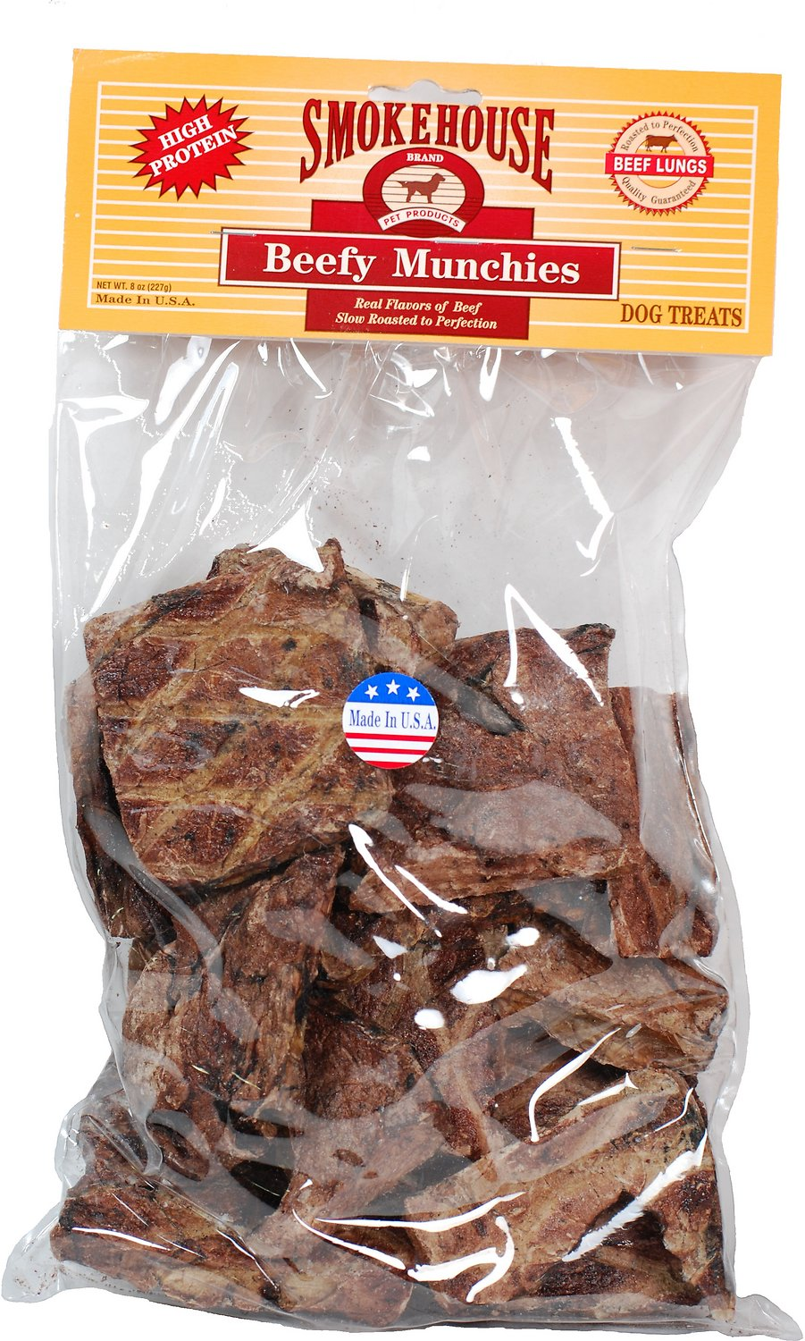 SMOKE HOUSE PET PRODUCTS, INC USA Beef Munchies