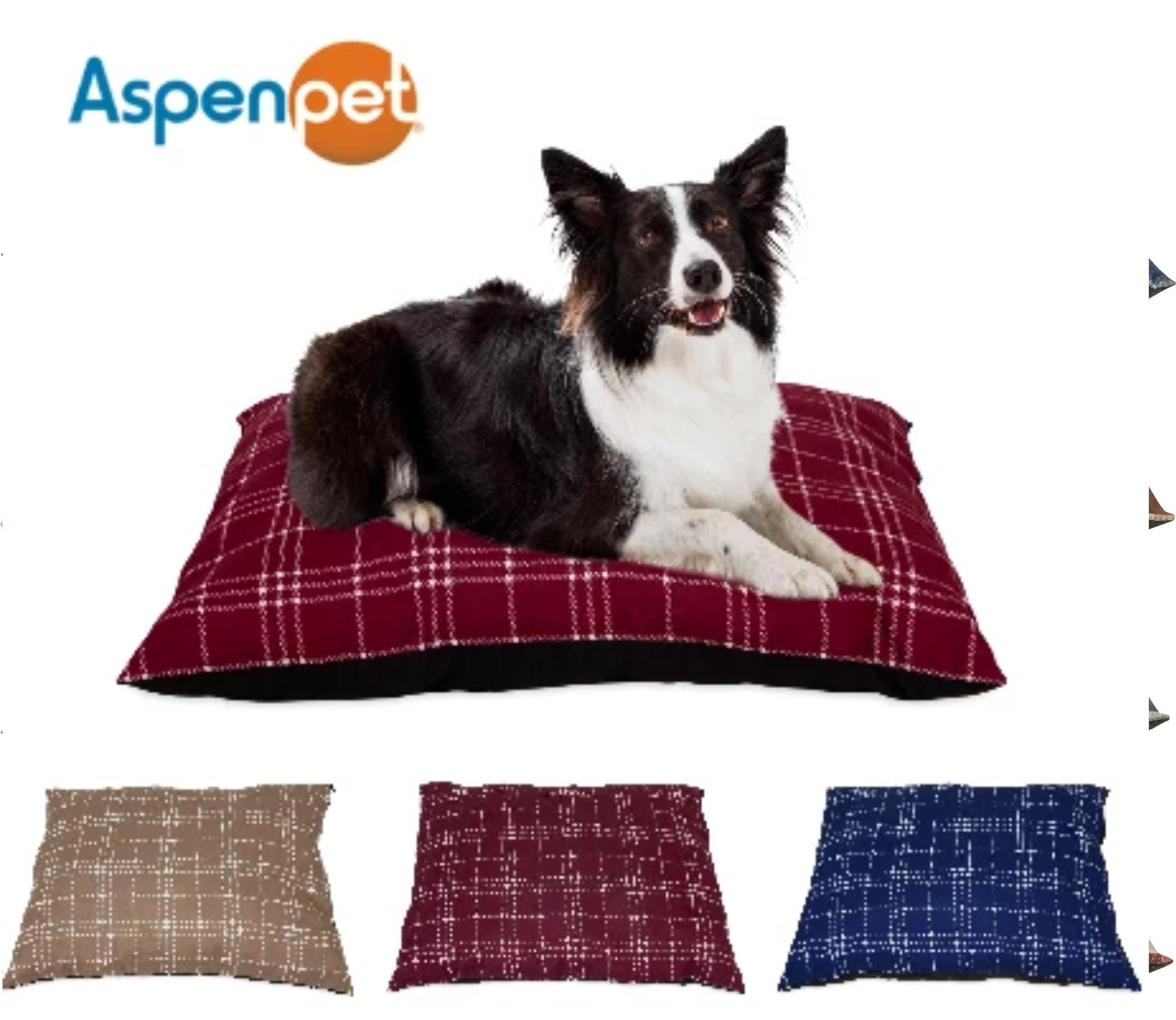 Aspenpet Aspen Machine Washable Pet Bed
