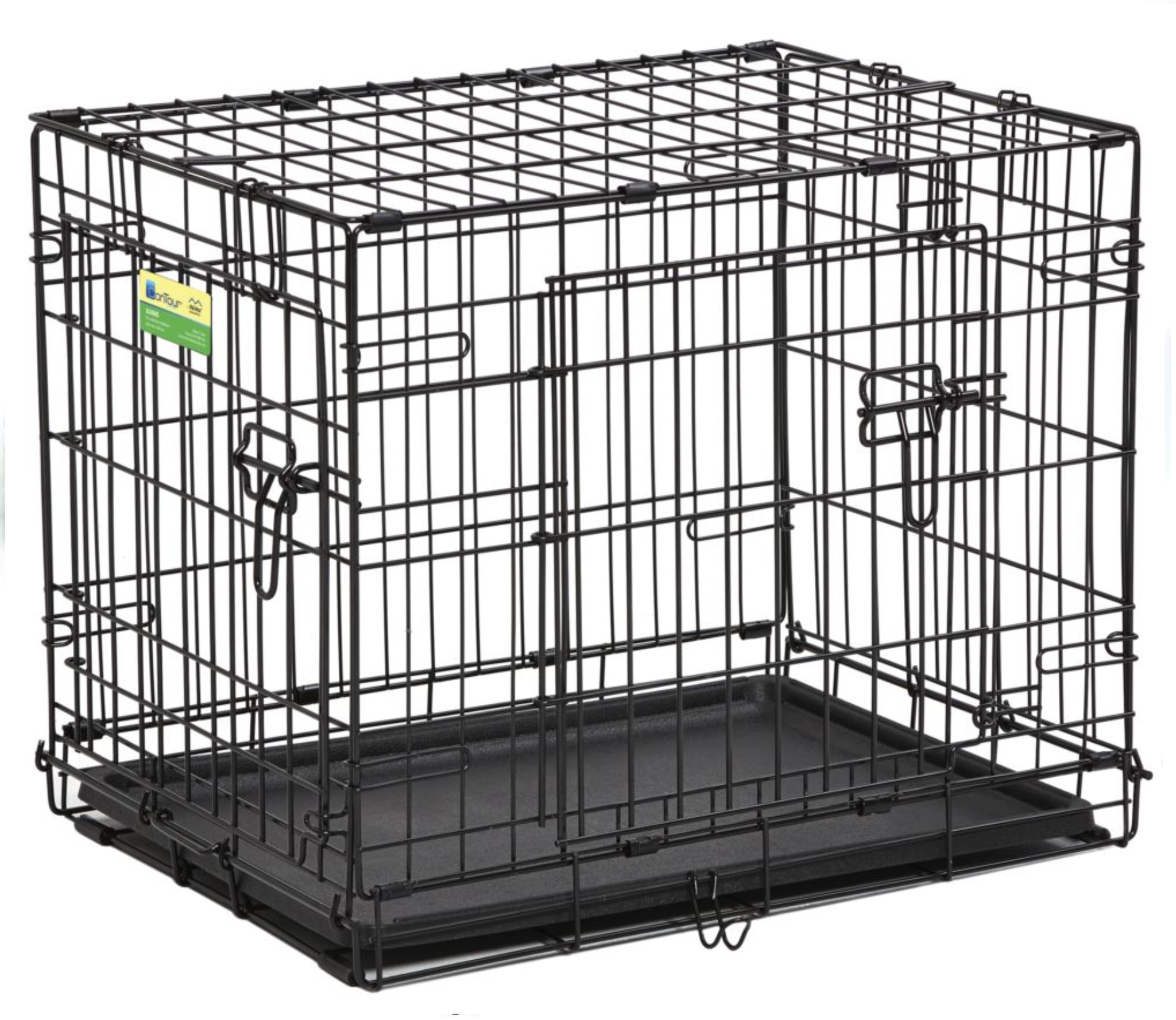 MIDWEST CONTAINER CONTOUR CRATE 42'' BLK