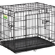 MIDWEST CONTAINER CONTOUR CRATE 30'' BLK