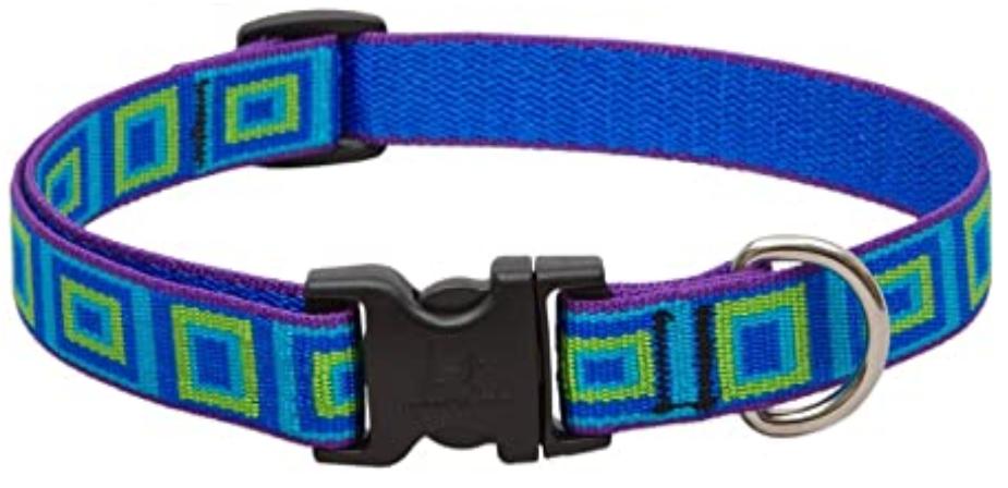 LUPINE Sea Glass Dog Collar