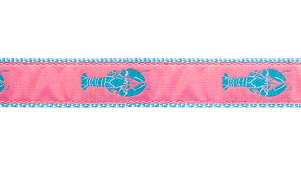 PRESTON Pink Lobster Dog Collar