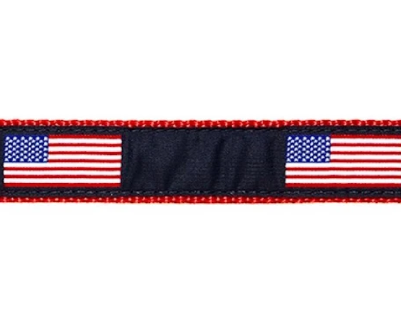PRESTON American Flag Dog Collar