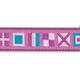 PRESTON Pink AZ Code Flag Dog Collar