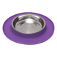 Messy Mutts Messy Cat Feeder Purple Silicone