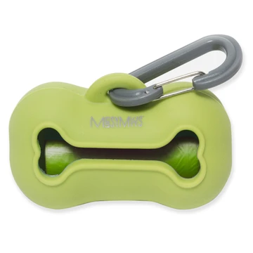 Messy Mutts Silicone Wastebag Holder Green