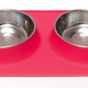 Messy Mutts Red Double Feeder 1.5 Cup