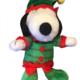 """FETCH 6"""" Holiday Snoopy Elf dog toy"""