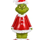 "FETCH Grinch 5"" Vinyl Squeak Toy"