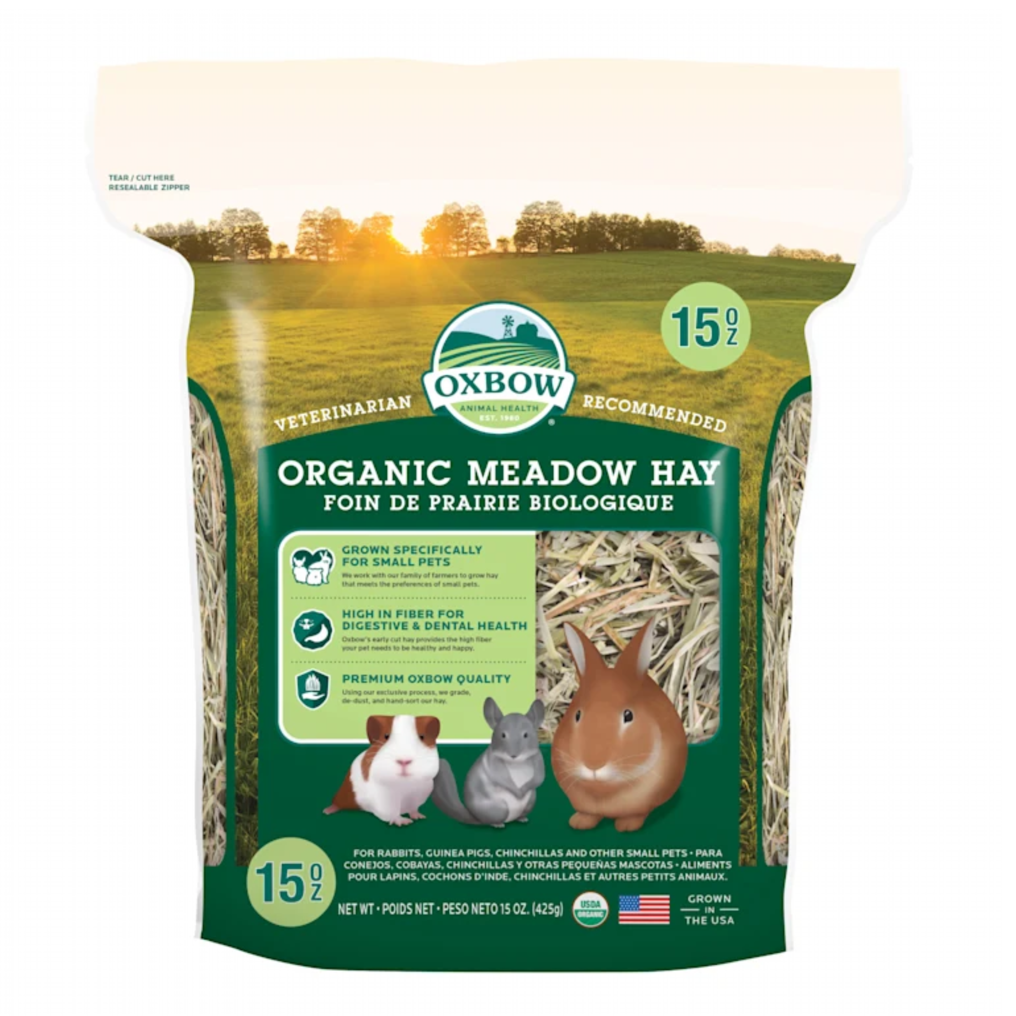 OXBOW PET PRODUCTS Oxbow Organic Meadow Hay