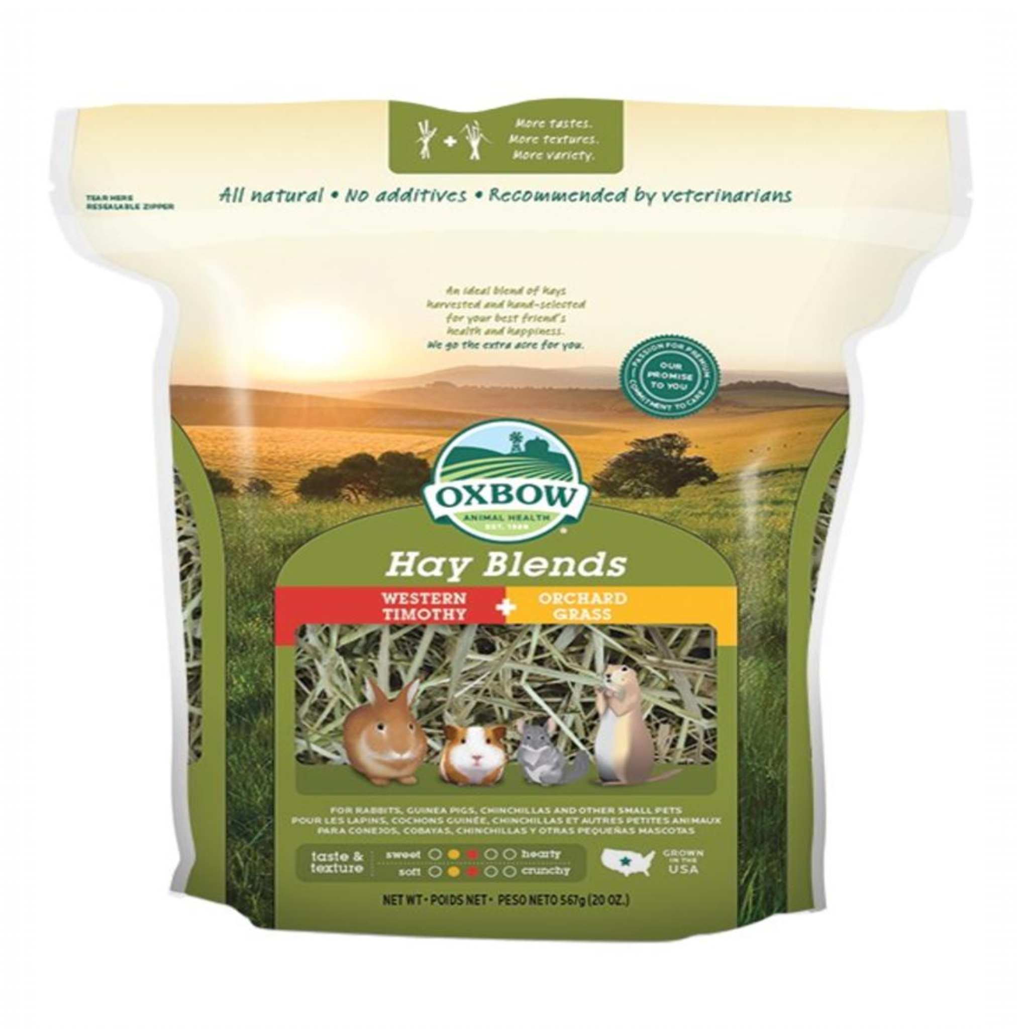 OXBOW PET PRODUCTS Oxbow Hay Blend 40 oz