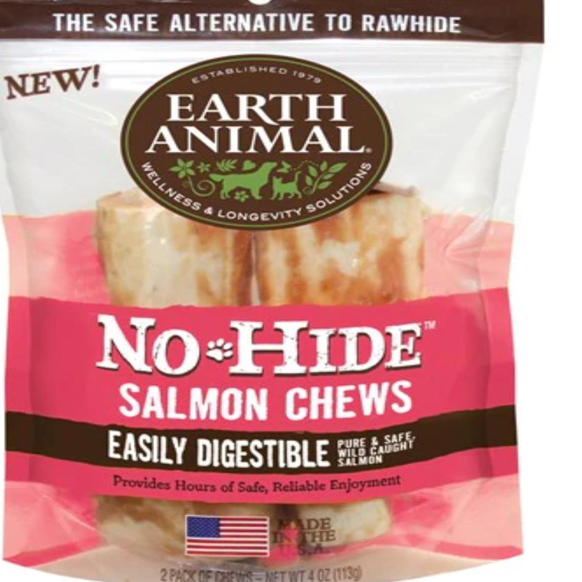 EARTH ANIMAL No Hide Salmon Dog Stix