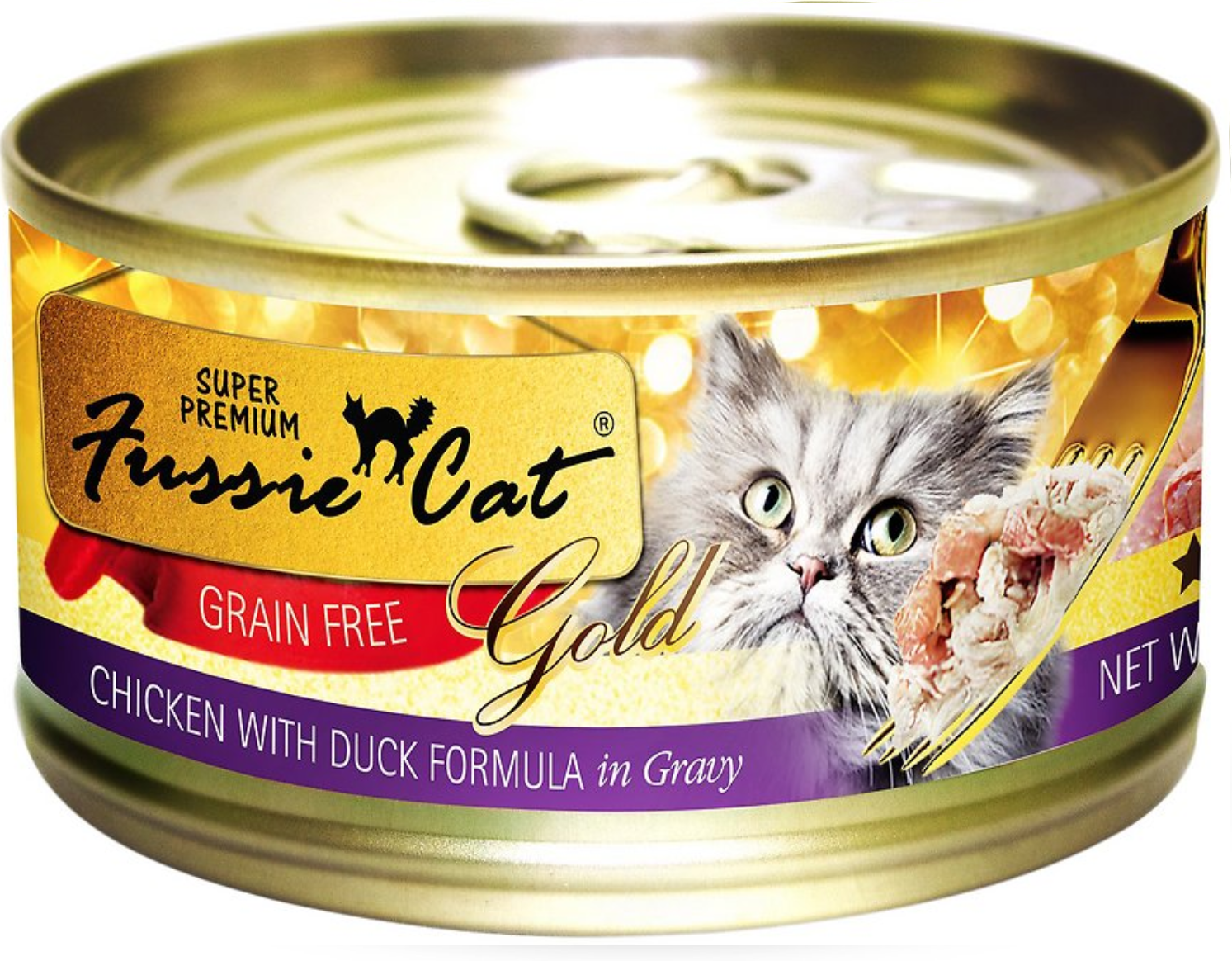 Fussie Cat Chicken With Duck Formula 2.8 oz