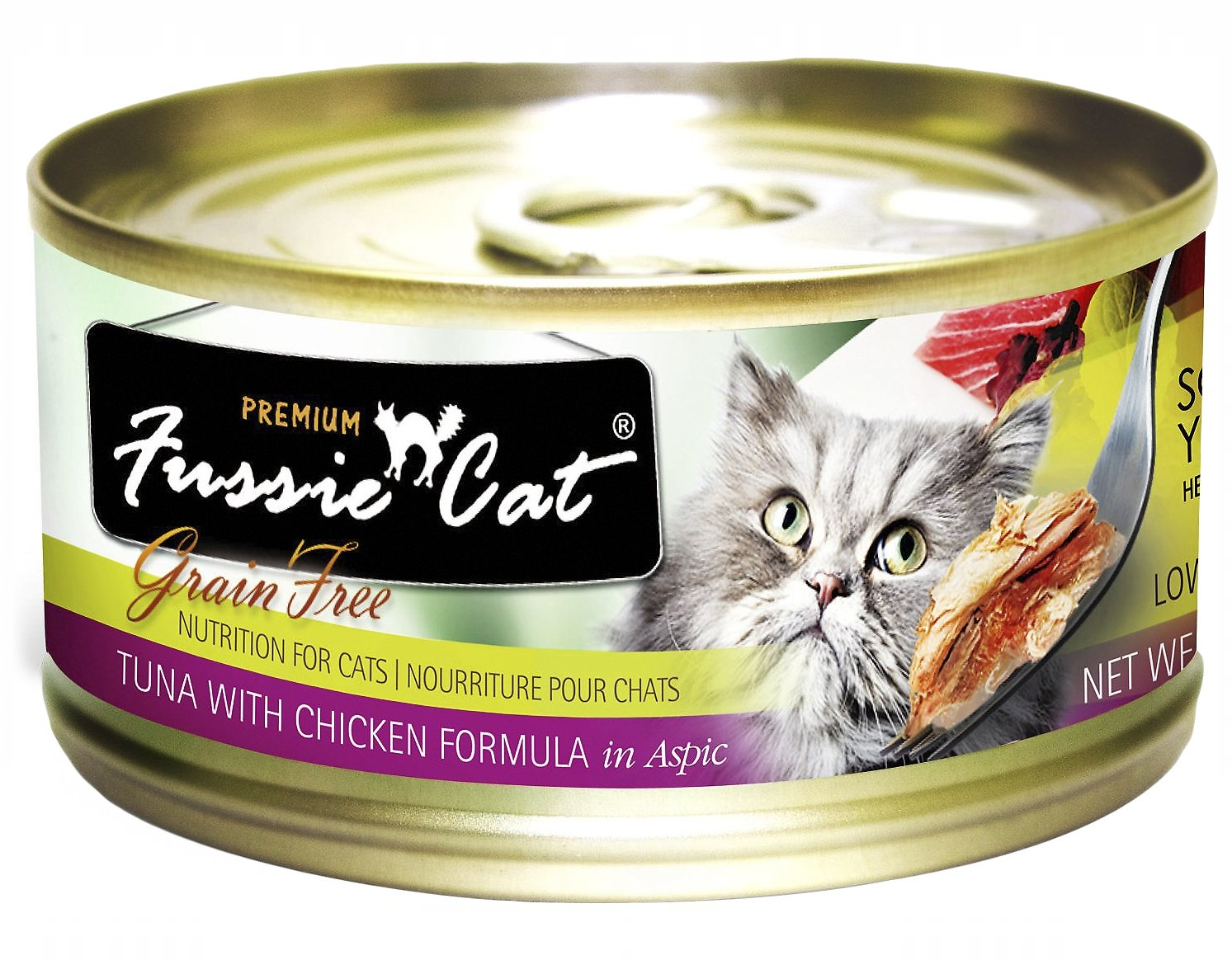 Fussie Cat Tuna With Chicken Formula 2.8 oz