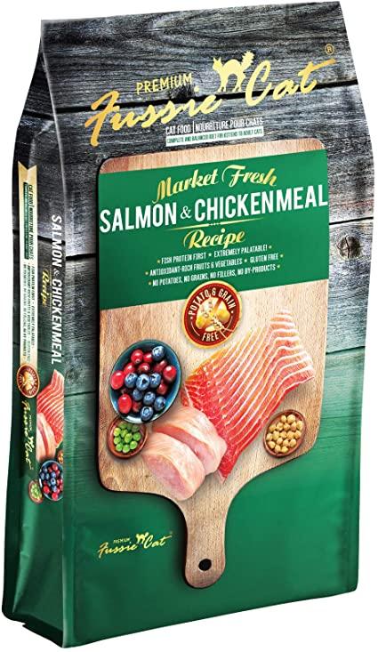 Fussie Cat Market Fresh - Salmon & Chicken Meal #