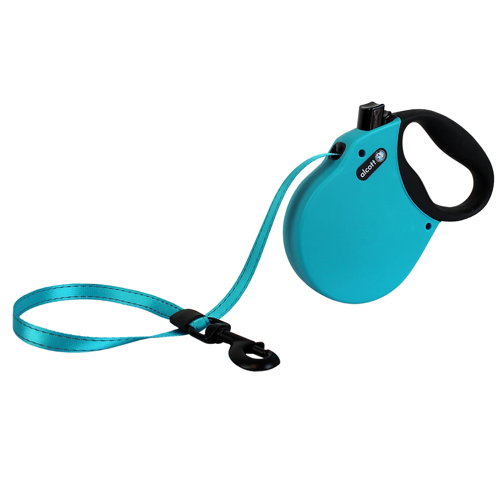 Alcott Retractable Leash Blue Large (Up To 110 Lbs)