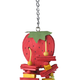 A&E Cage Company Small Strawberry Bird Toy