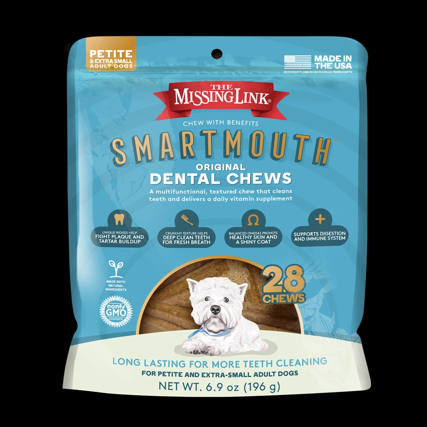 The Missing Link The Missing Link X-Small / Small Dental Chews (28)