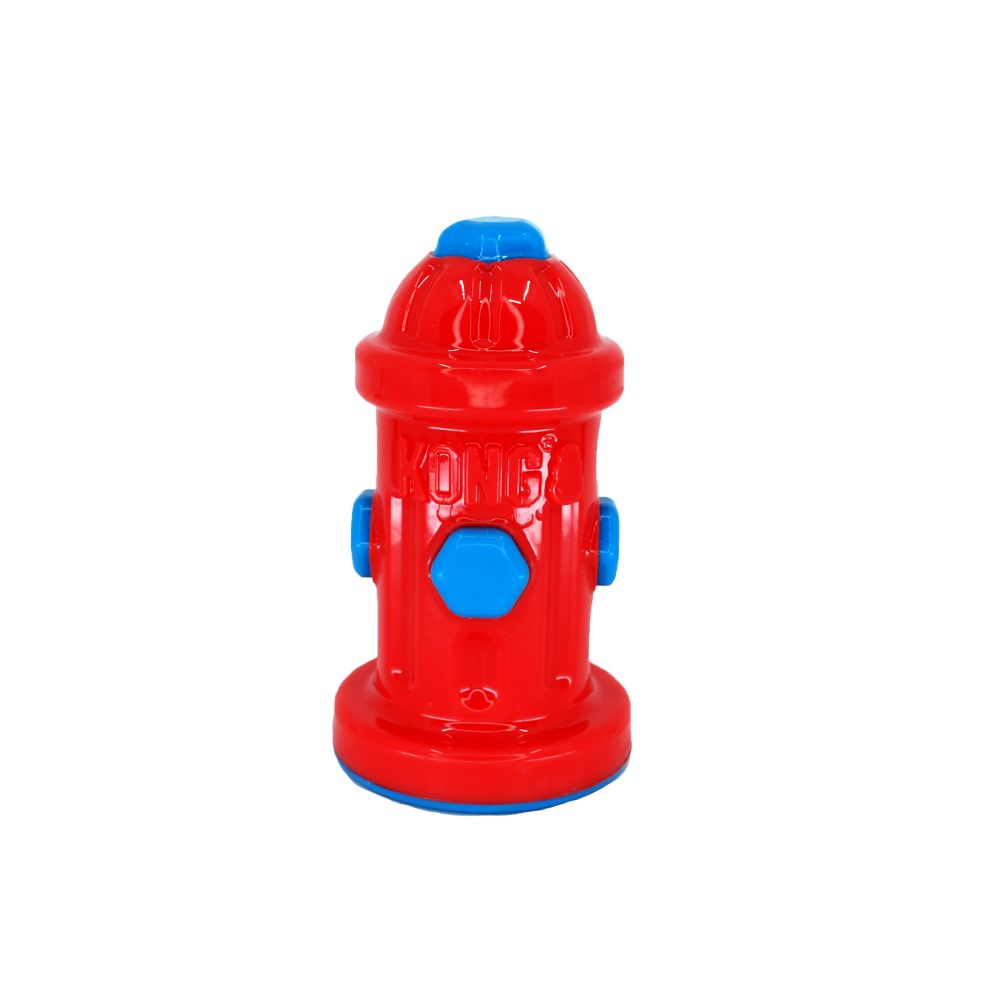 KONG Eon Fire Hydrant Red/Blue-LG Dog Toy