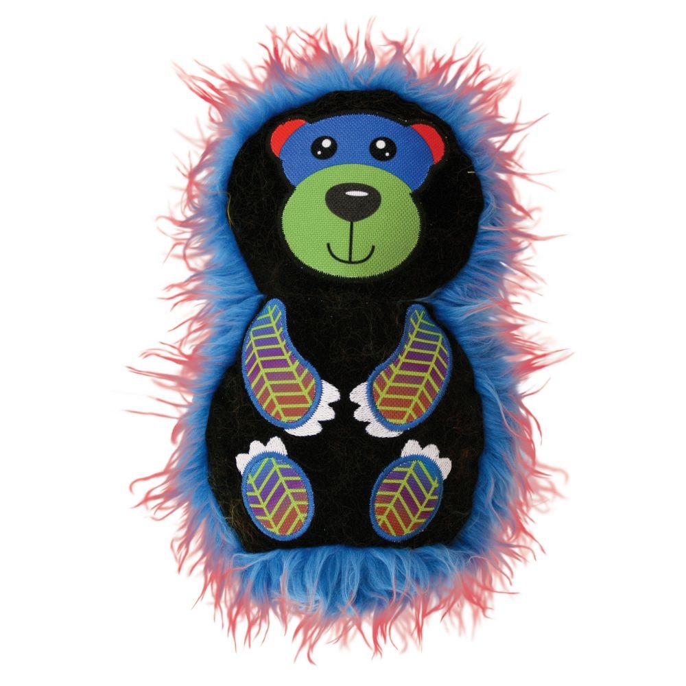 KONG Roughskinz Suedz Bear Medium