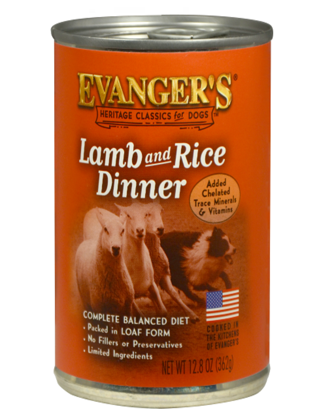 EVANGERS Evangers Lamb & Rice Dinner Canned Dog Food