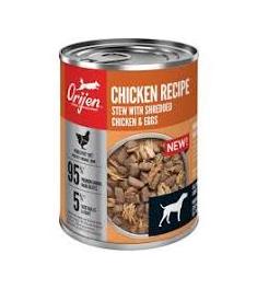 Orijen Chicken Recipe Stew with Shredded Chicken & Eggs Wet Dog Food  12.8OZ