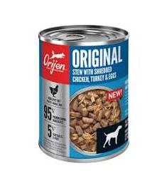 Orijen ORIJEN Original Stew Recipe with Chicken, Turkey & Eggs Wet Dog Food 12.8OZ