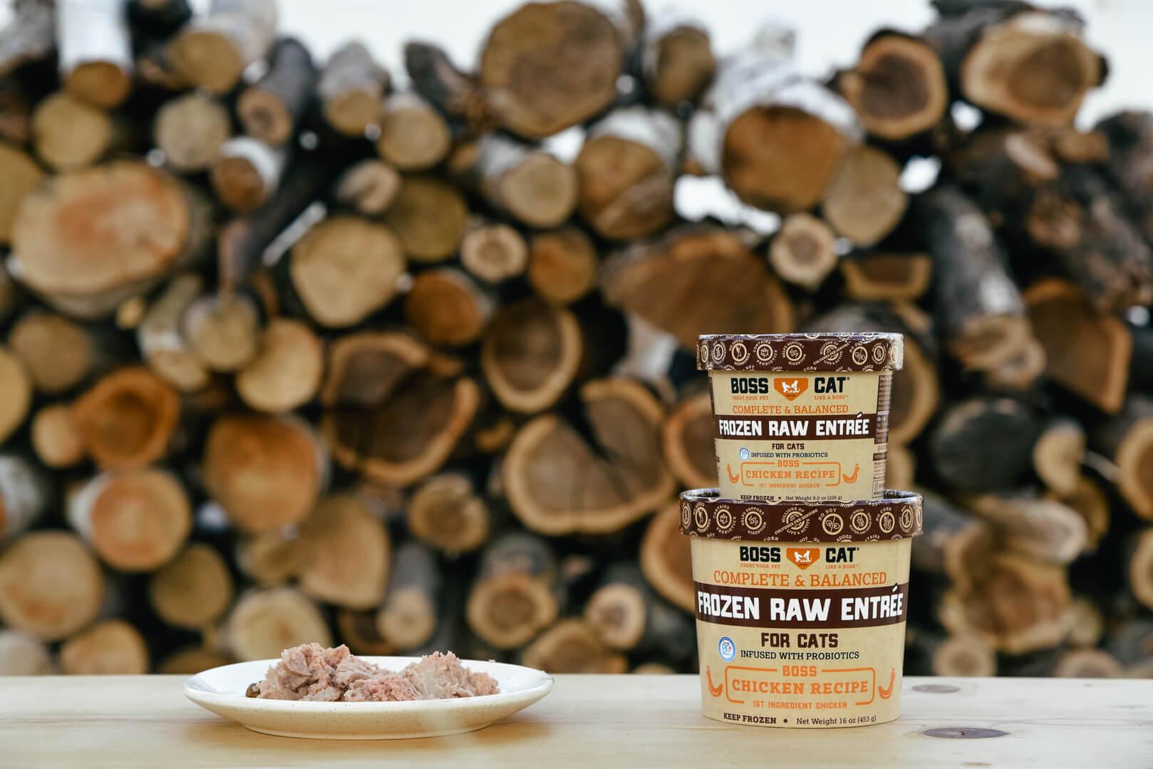 Boss Nation Brands Inc. Frozen Raw Chicken Cup 12/8 oz