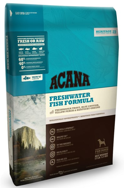 Champion Pet Foods Acana Freshwater Fish 13lb Grain Free Dry Dog Food