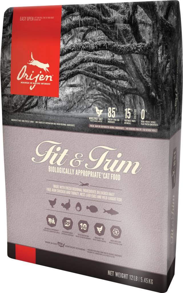 Champion Pet Foods Orijen Fit & Trim 4lb Grain Free Dry Cat Food