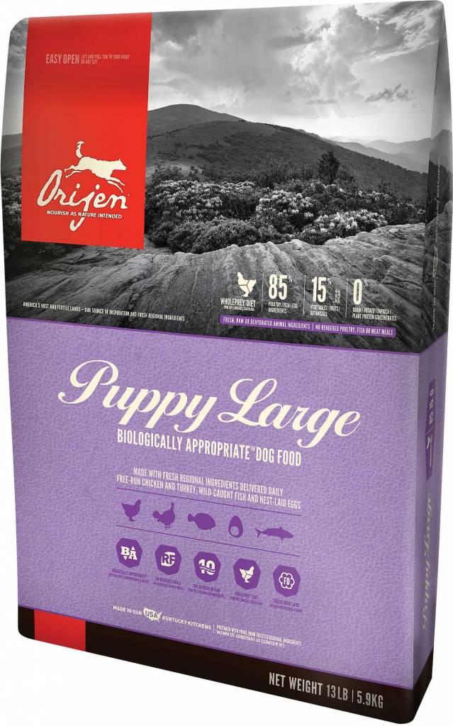 Champion Pet Foods Orijen Large Breed Puppy 13lb Grain Free Dry Dog Food