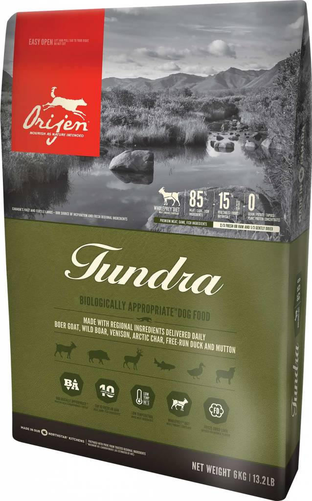 Champion Pet Foods ORIJEN TUNDRA 25# GF DRY DOG FOOD