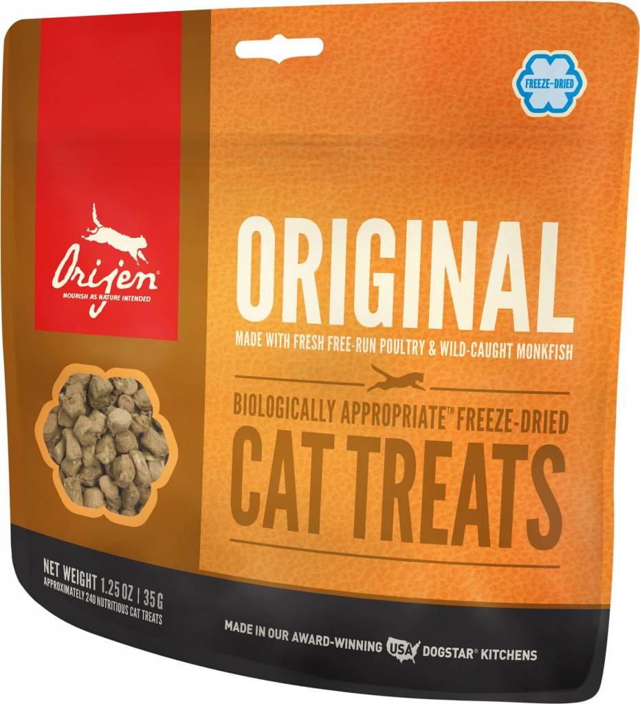 Champion Pet Foods Orijen Original 1.25oz Freeze-Dried Cat Treat